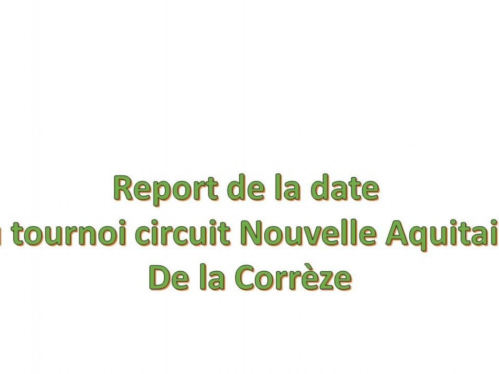 Image de l'actu 'Tournoi Circuit Nouvelle Aquitaine de la Corrèze'