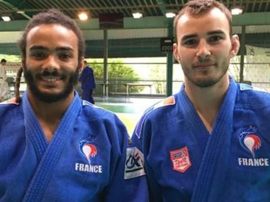 Image de l'actu 'Nathan Petit et Helios Latchoumanaya en préparation pour les jeux paralympiques de Tokyo à Limoges'