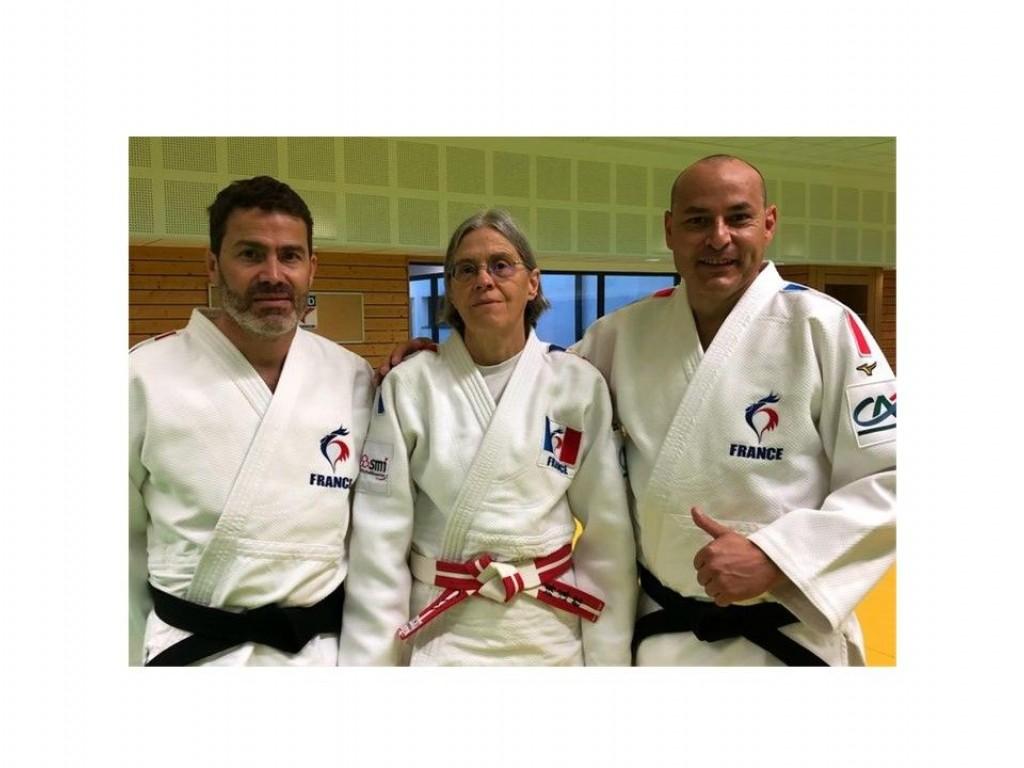 Image de l'actu 'Judo Kata Sportif - L'équipe de France en stage au CREPS de Reims.'