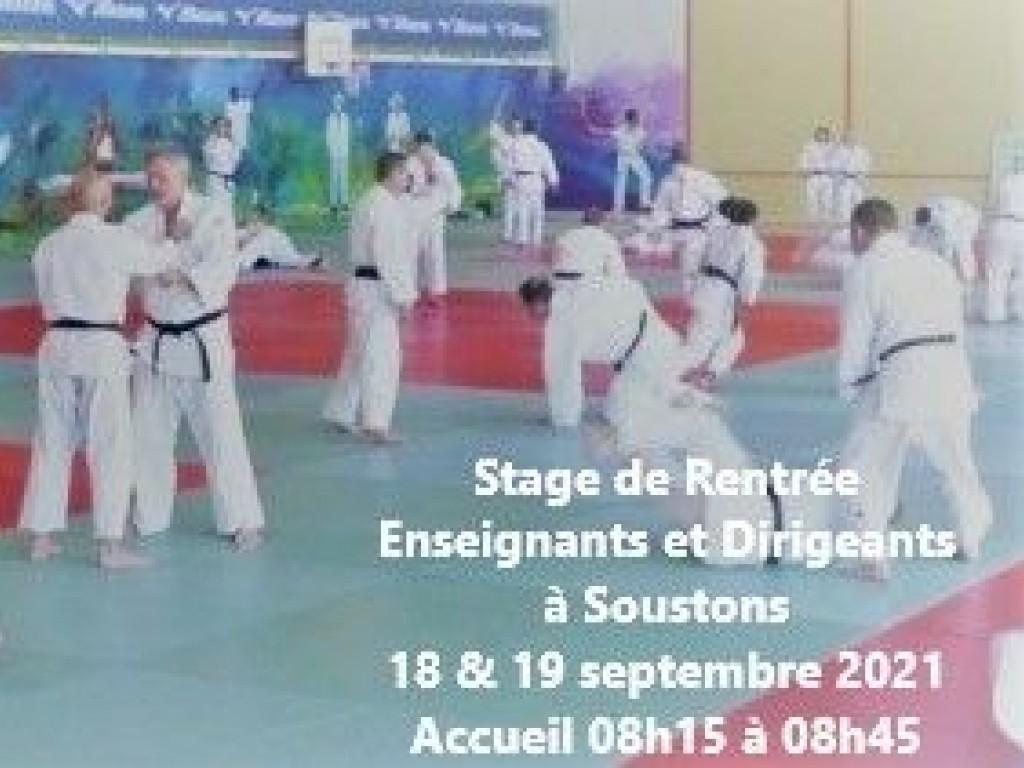 Image de l'actu 'STAGE DE RENTRÉE ENSEIGNANTS ET DIRIGEANTS 18 ET 19 SEPTEMBRE'
