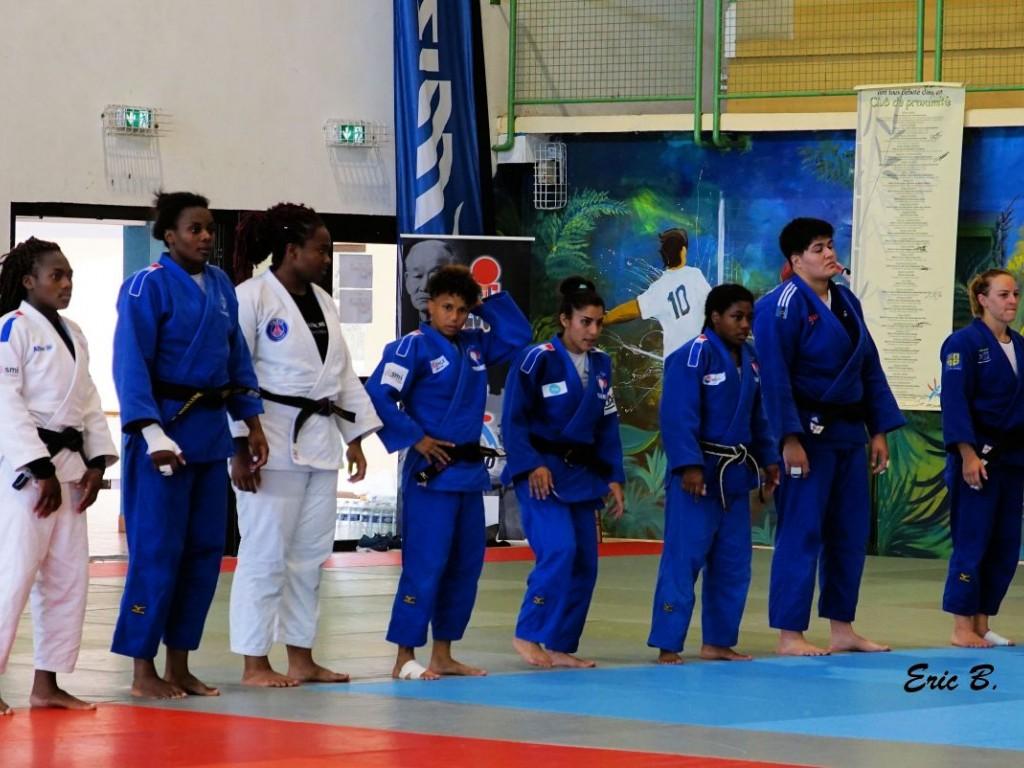 Image de l'actu 'Préparation de l'équipe de France Féminine pour les J.O de Tokyo - Soustons'