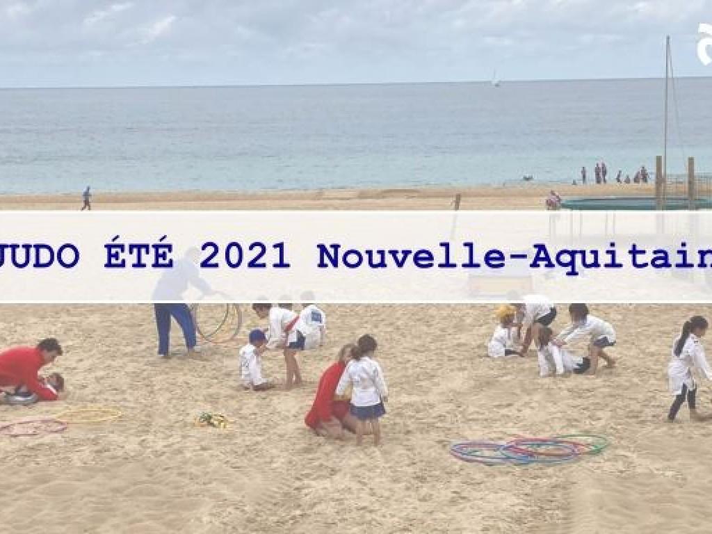Image de l'actu 'ACTIONS JUDO ÉTÉ NOUVELLE AQUITAINE 2021'