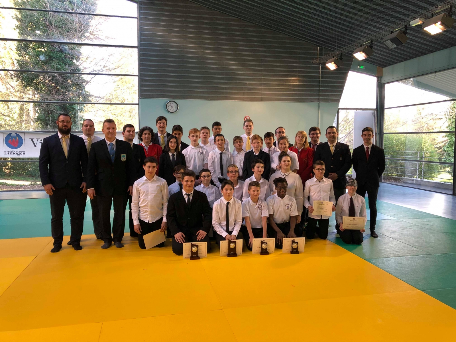 Coupe Jeunes Officiels Minimes 07-04-2019 LIMOGES