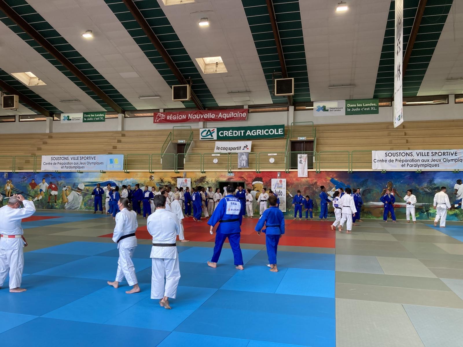 Préparation de l'équipe de France Féminine aux J.O de TOKYO - Soustons